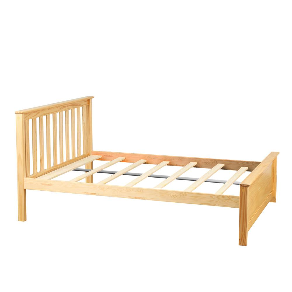 Natural Full Size Single Bed