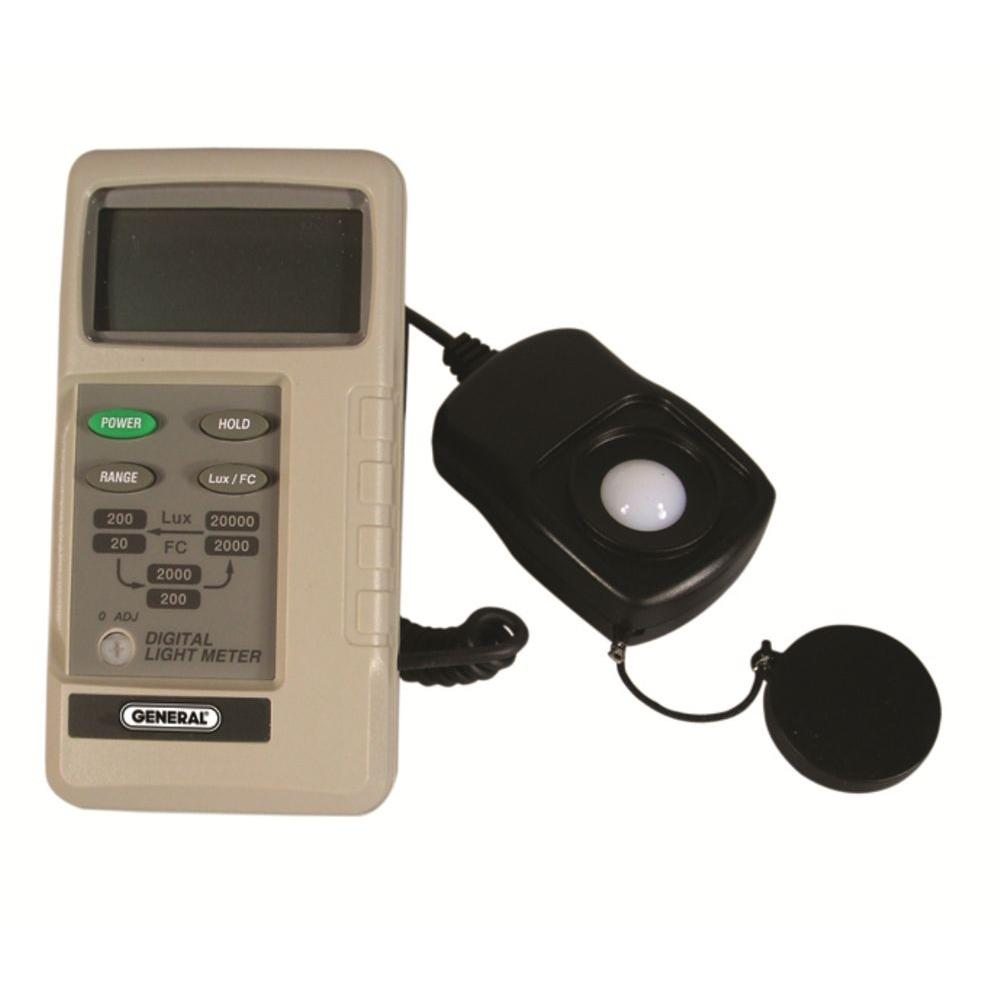 3-Range Digital Light Meter