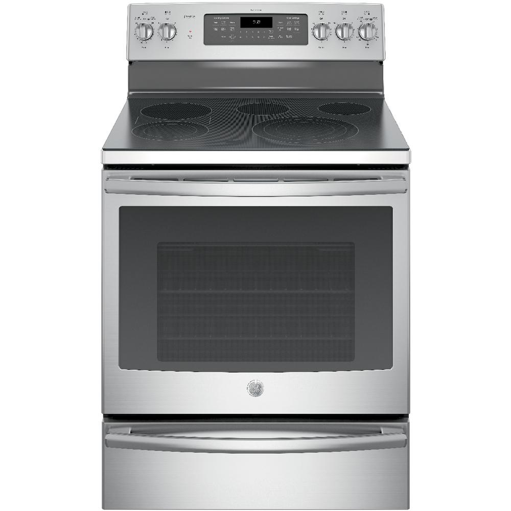 Smart Electric Range With Self