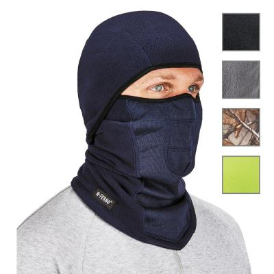 N Ferno 6823 Navy Wind-proof Hinged Balaclava Face Mask