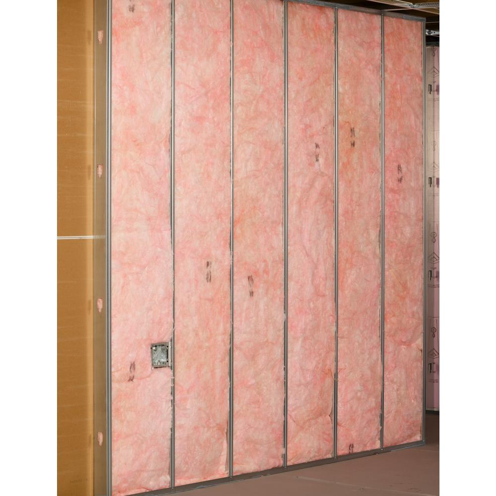 Owens Corning R 19 Ecotouch Pink Metal Framed Kraft Faced Fiberglass Insulation Batt 16 In X 96 In 10 Bags M48q The Home Depot