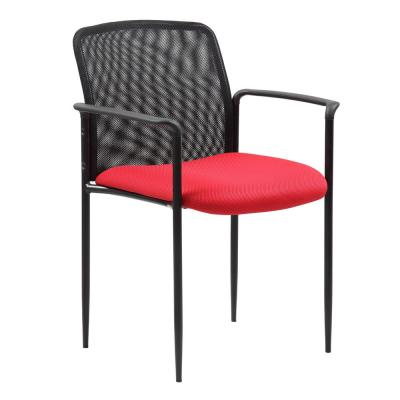 Stackable Mesh in Red Guest Chair