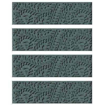 Evergreen 8.5 in. x 30 in. Boxwood Stair Tread Cover (Set of 4)