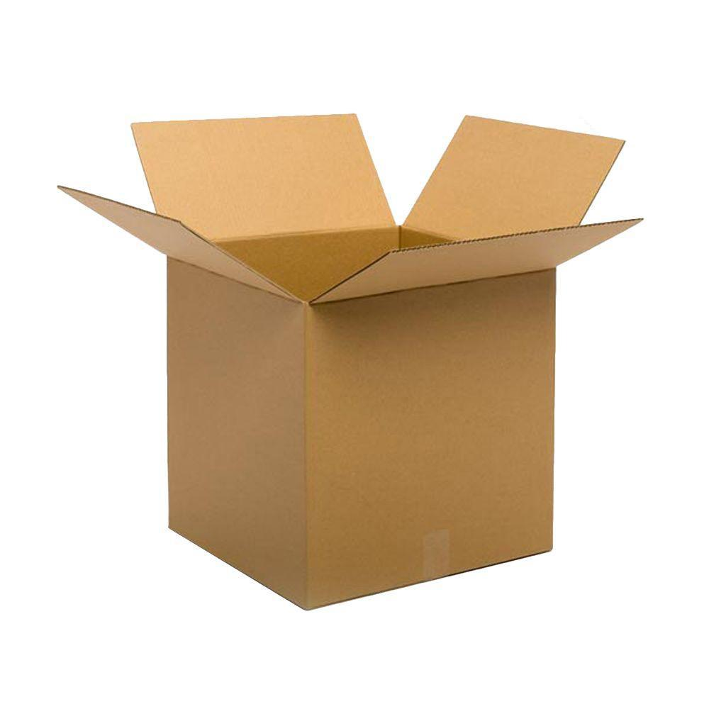 Pratt Retail Specialties 20 in. L x 20 in. W x 20 in. D Moving Box (10-Pack)