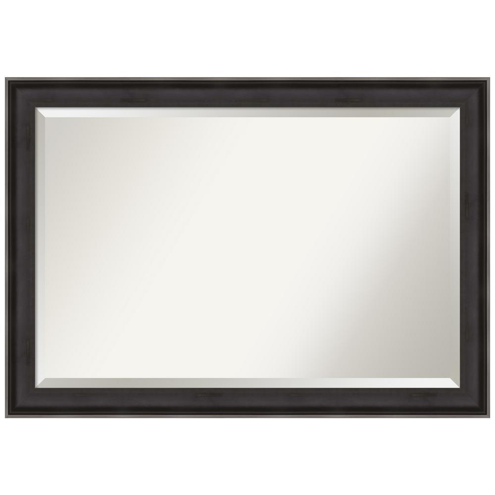 Allure Charcoal 40.38 in. x 28.38 in. Bathroom Vanity Mirror