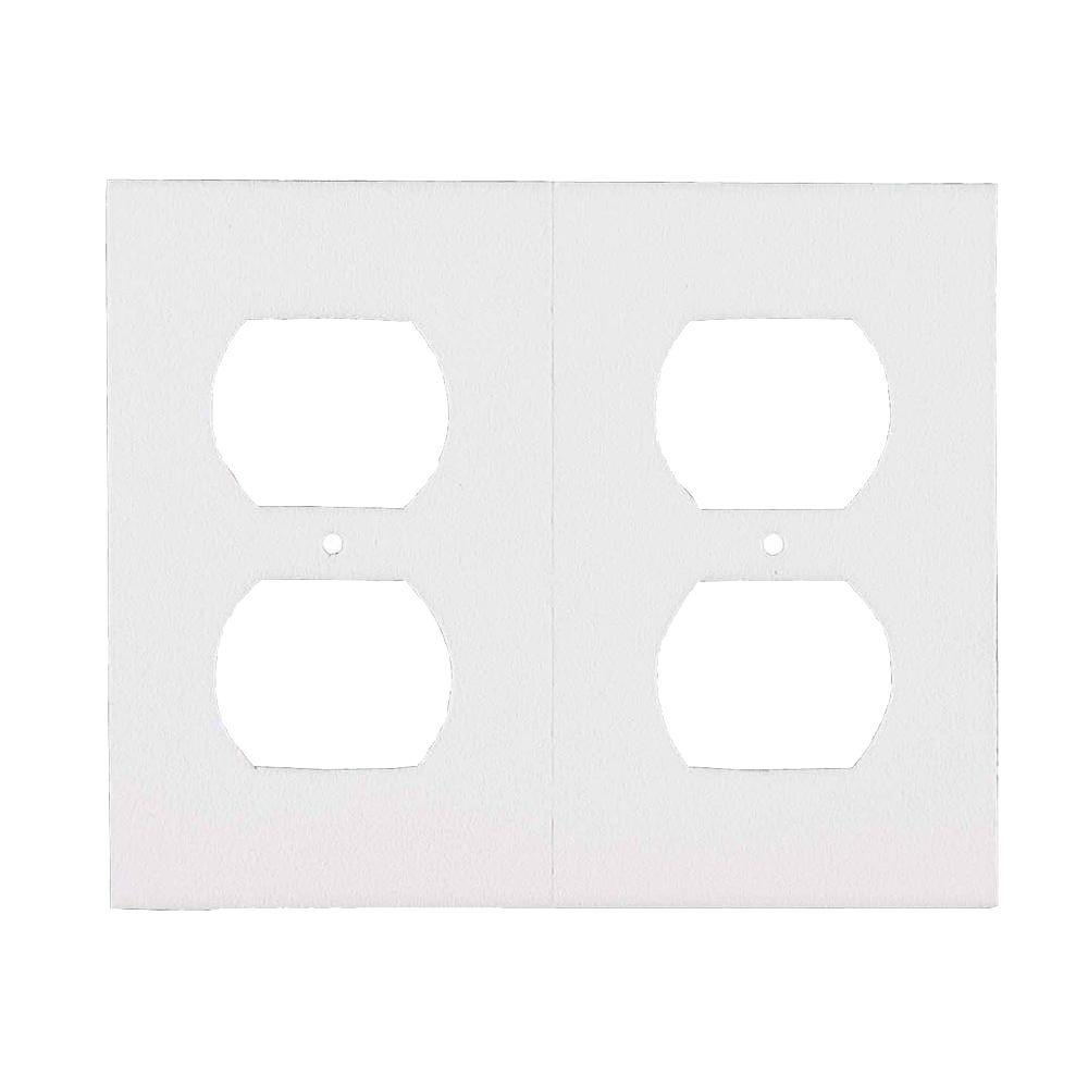 Outlet Plate Sealers White Bulk 400 Pack