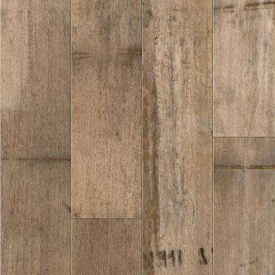 5 ft. x 12 ft. Laminate Sheet in Antique Barrel with Virtual Design SoftGrain Finish