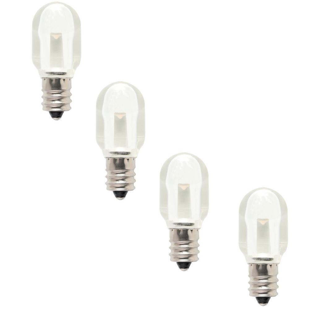 westinghouse 6w equivalent s6 led light bulb clear 4 pack. Black Bedroom Furniture Sets. Home Design Ideas