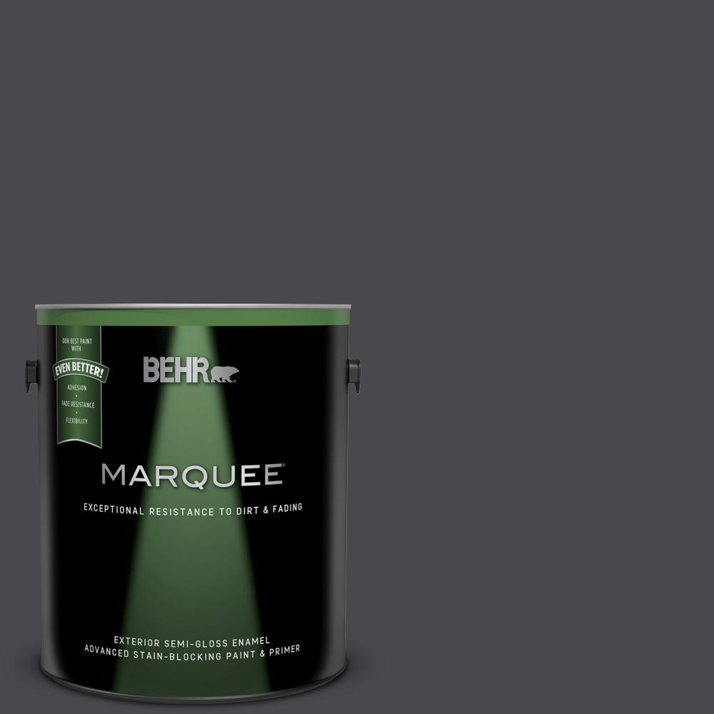 Behr Marquee 1 Gal Ecc 62 2 Cityscape Semi Gloss Enamel Exterior Paint And Primer In One 545301 The Home Depot