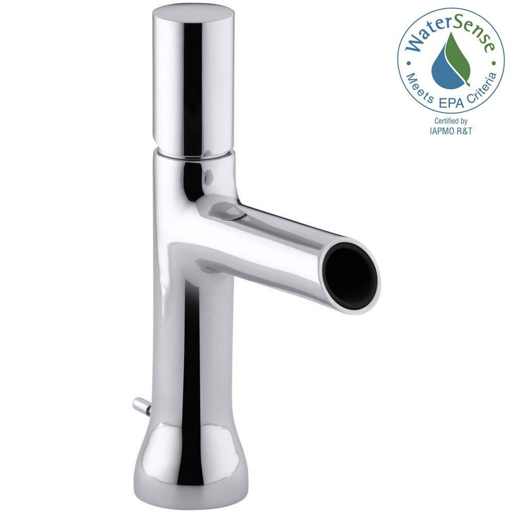 Toobi Single Hole Single Handle Low-Arc Water-Saving Bathroom Faucet in Polished