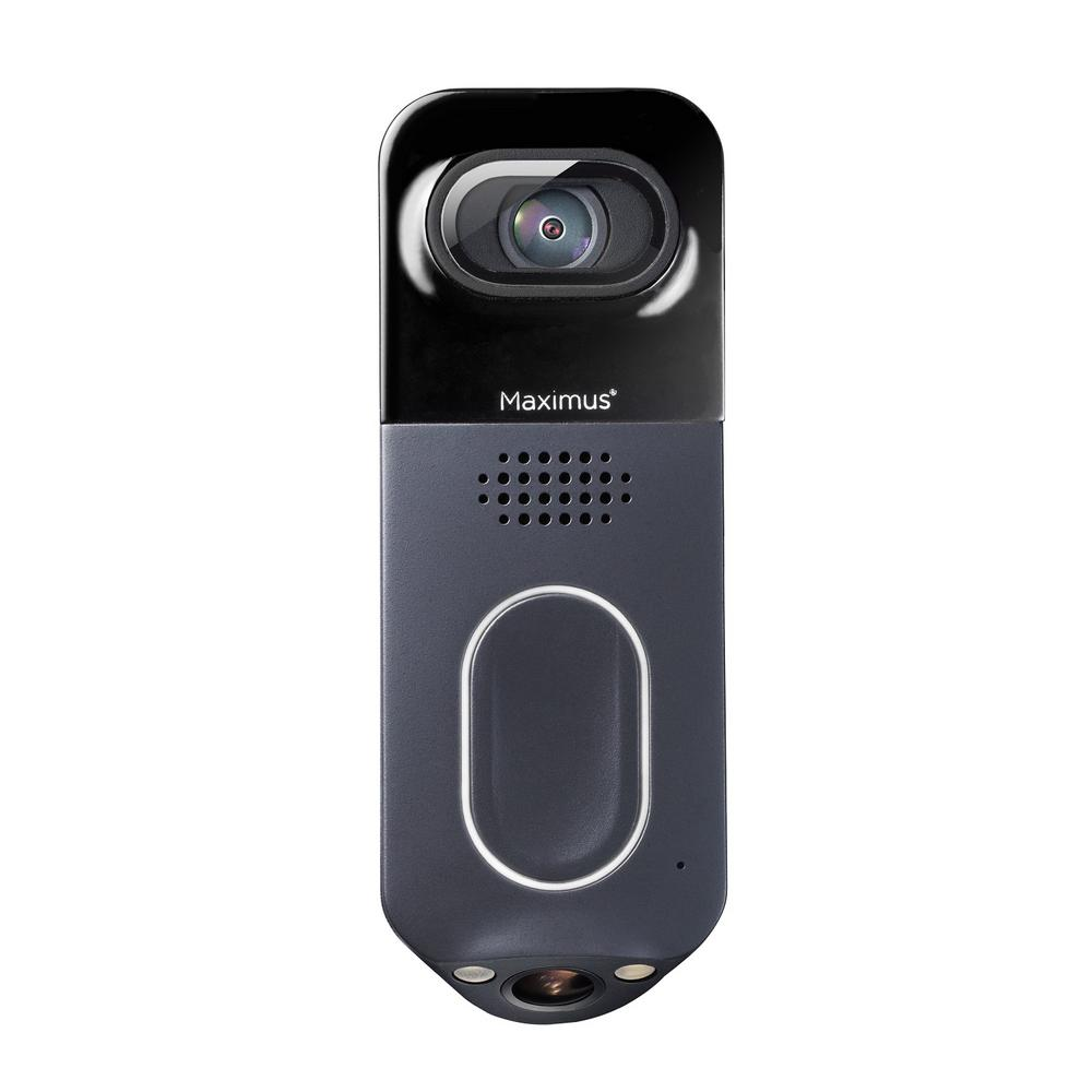 Maximus Wired Black Answer DualCam Video Doorbell