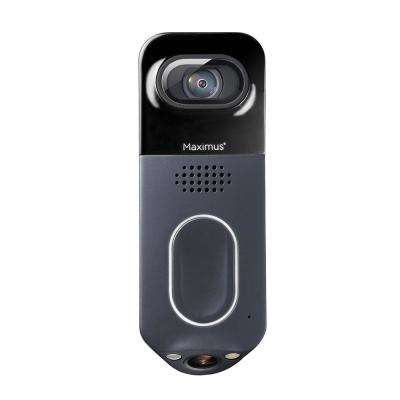 Wired Black Answer DualCam Video Doorbell