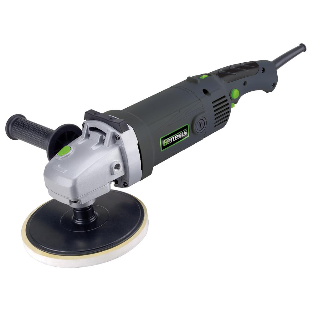 Genesis 11 Amp 7 in. Variable Speed Sander/Polisher