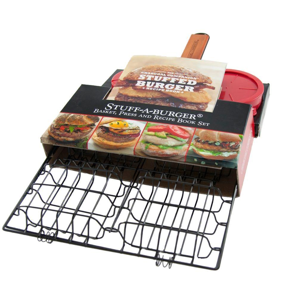 Charcoal Companion Stuff-A-Burger 3-Piece Set