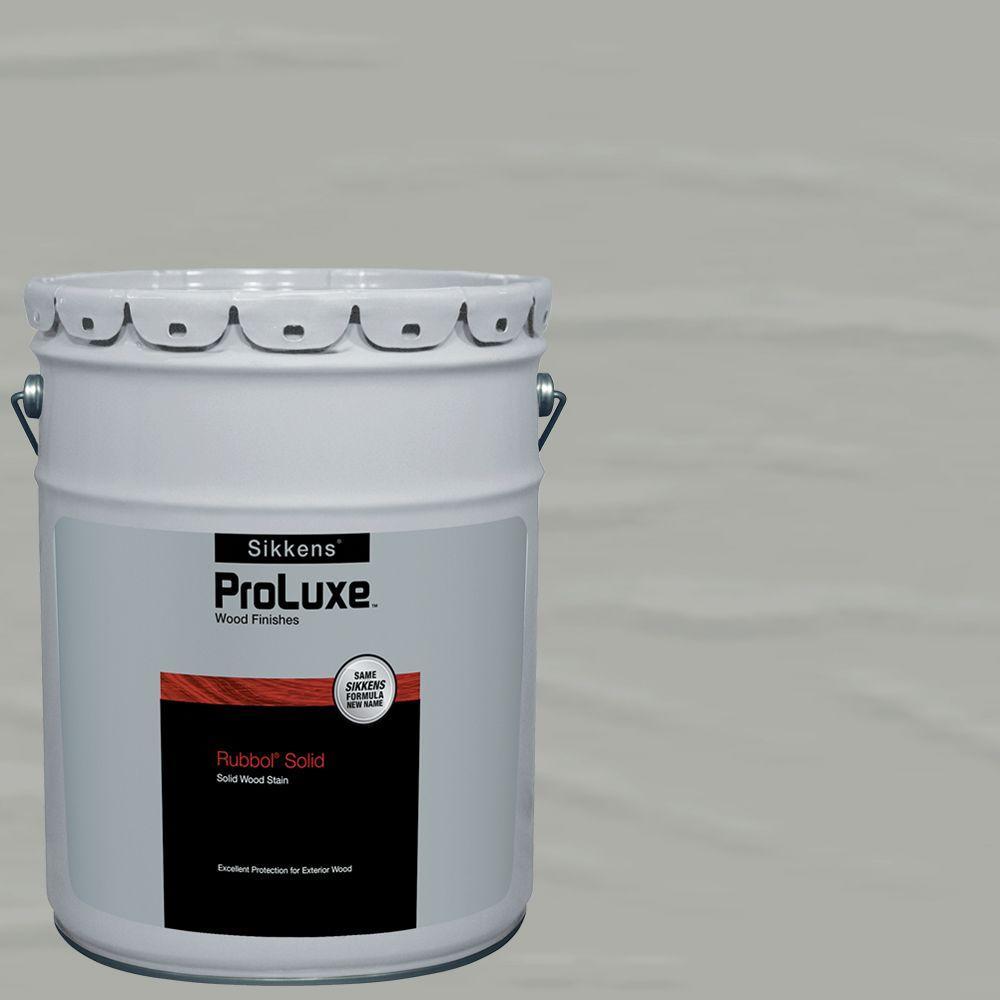 #HDGSIK710-520 Fog Grey Rubbol Solid Wood Stain