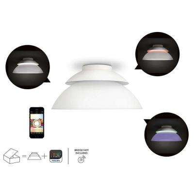 Hue White and Color Ambiance Beyond Dimmable Smart Ceiling Light (2 Independent Uplight And Downlight Sources)
