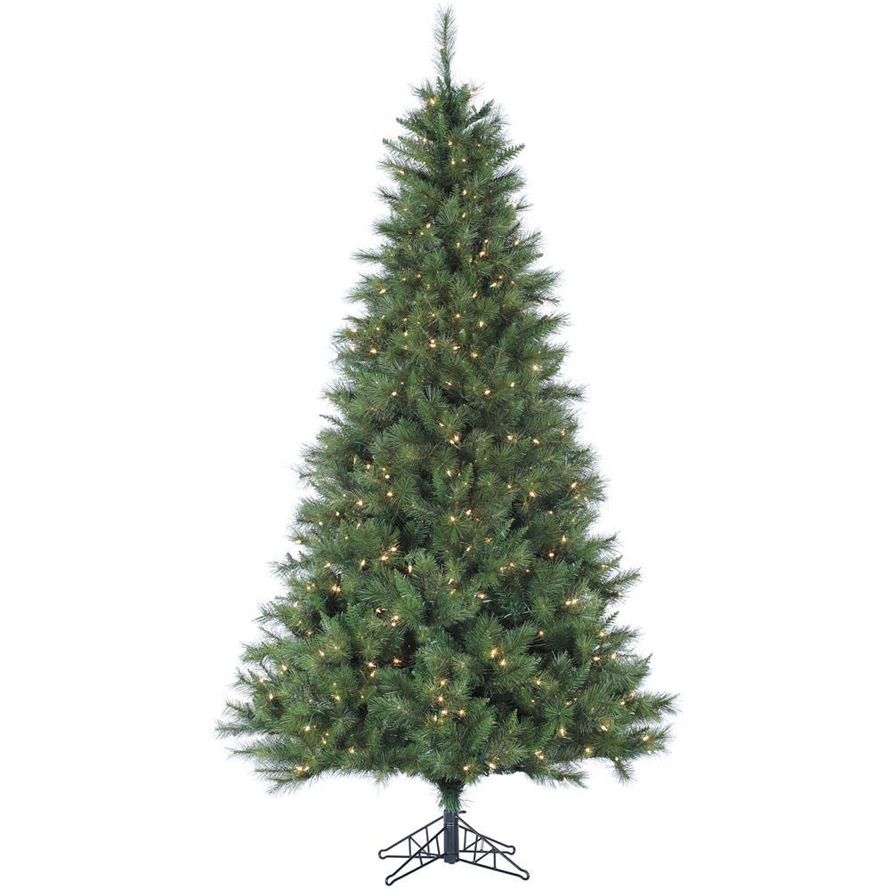 Christmas Tree Lit: Fraser Hill Farm 6.5 Ft. Pre-lit LED Canyon Pine