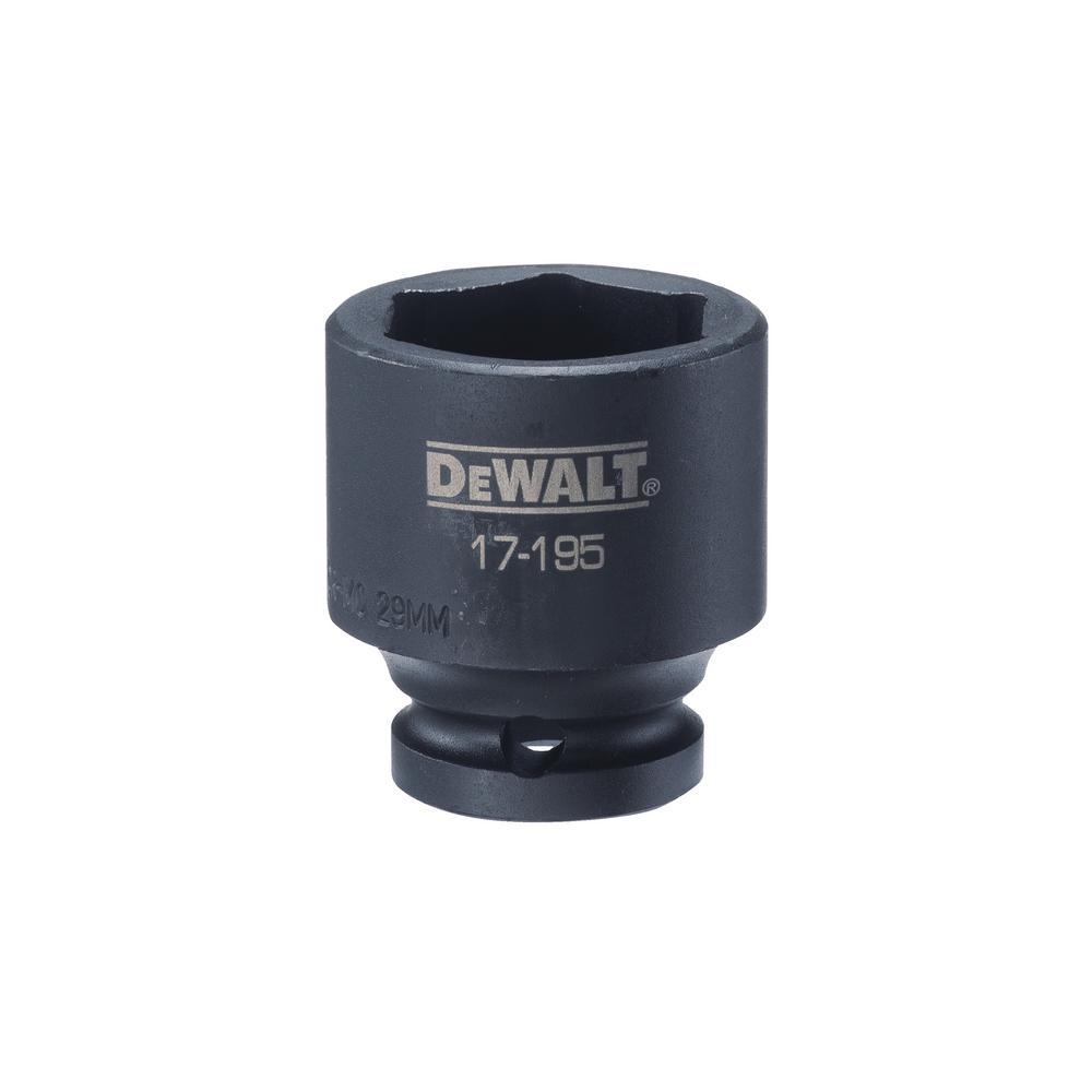 DEWALT 1/2 in. Drive 29 mm 6-Point Impact Socket was $10.1 now $2.02 (80.0% off)