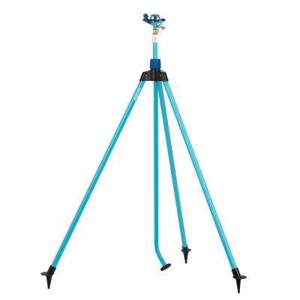 Indestructible Zinc Impulse 360° Telescoping Tripod Sprinkler
