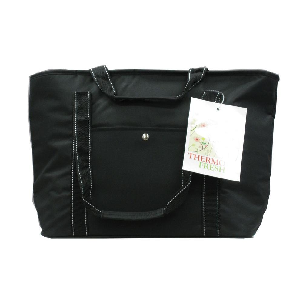 20 Qt. Insulated Hand Bag in Black