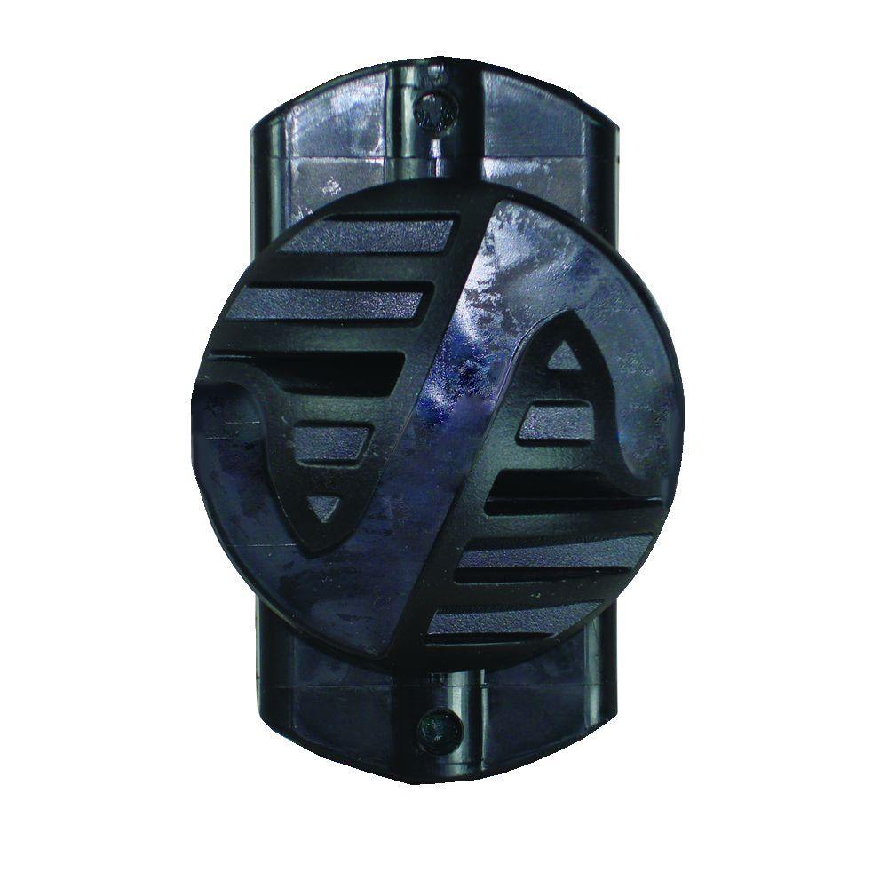 Field Guardian 3-in-1 Black Multi-Purpose Insulator (100-Pack)