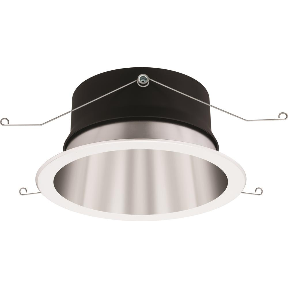 Lithonia Lighting RV 8 in. Open Specular Clear LED Downlighting Trim