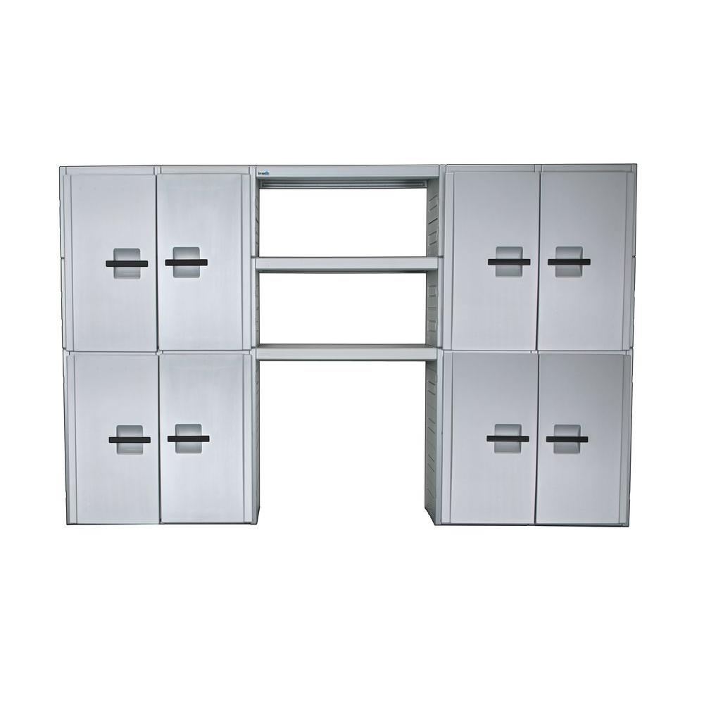 Inter-LOK Storage Systems 132 in. Wide Cabinet Storage system-DISCONTINUED
