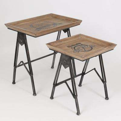 Natural Accent Tables (Set of 2)