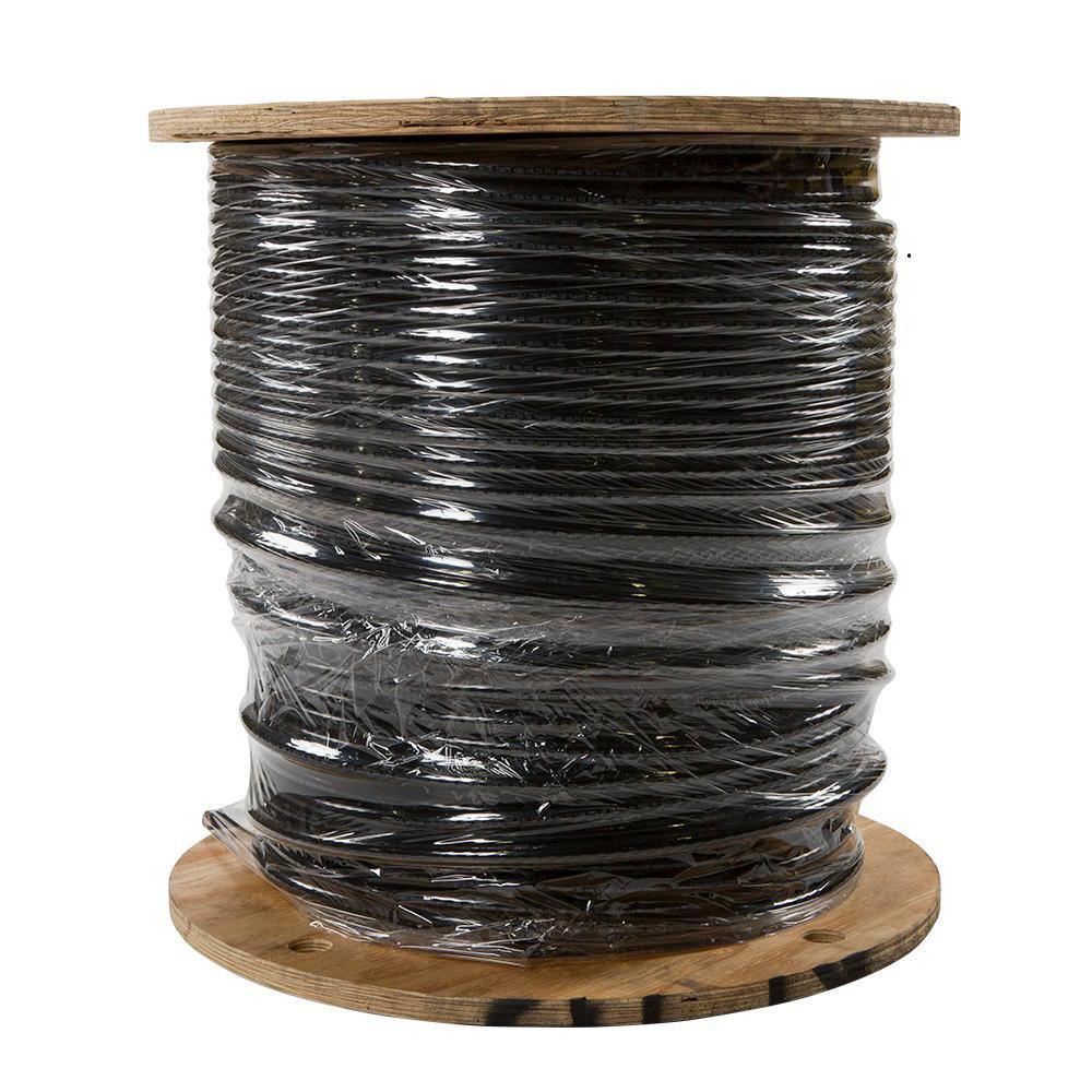 500 ft. 4/0 Black Stranded CU SIMpull THHN Wire