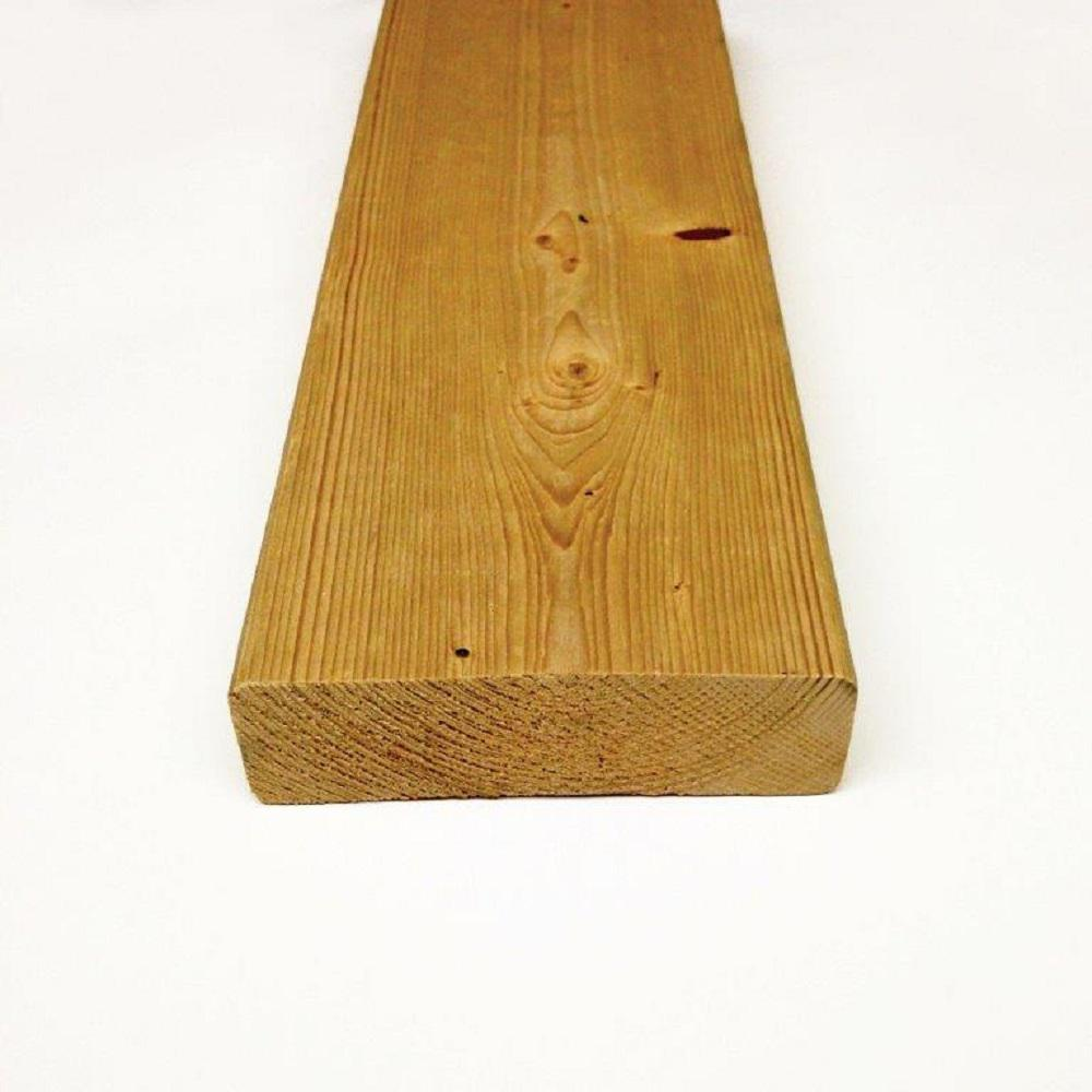 x 4 in Custom Length 4ft Construction Redwood Board Stud Lumber 2 in
