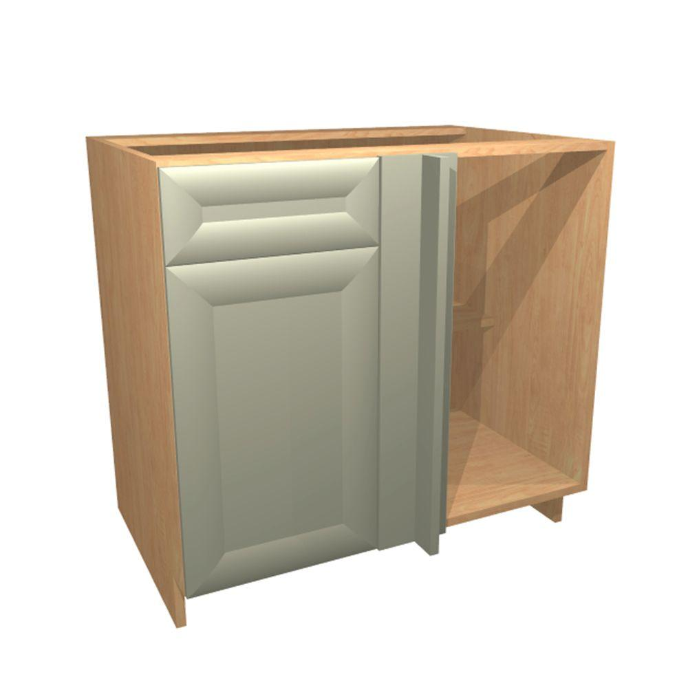 home decorators collection in dolomiti blind base corner cabinet with 1 soft close. Black Bedroom Furniture Sets. Home Design Ideas