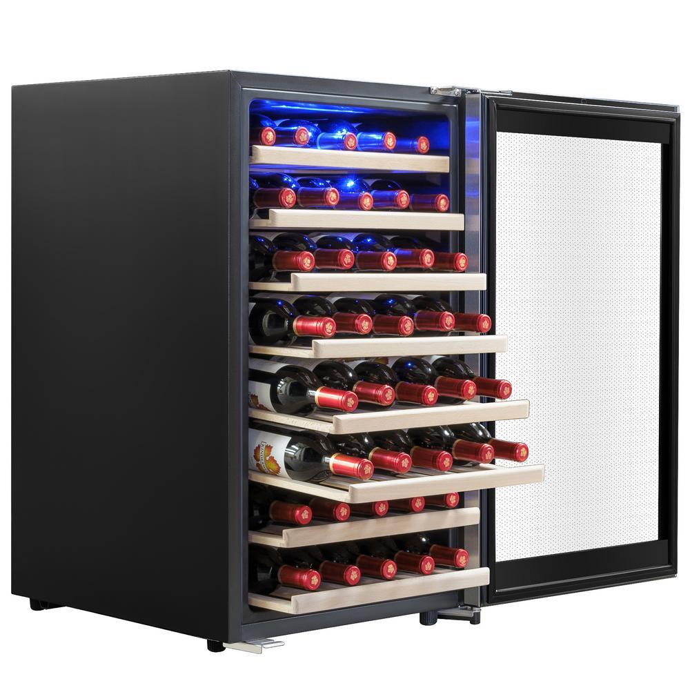 19.5 in. 52-Bottle Wine and 104-Can Compressor Beverage Cooler