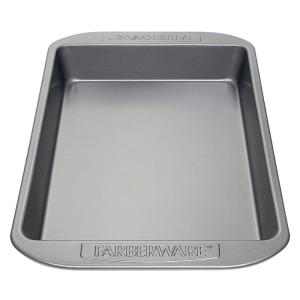 Farberware Steel Rectangular Cake Pan by Farberware