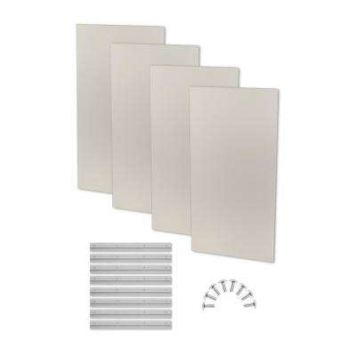 1.6 in. H x 24 in. W x 48 in. L Stone Fabric Absorption Plus Diffusion Panels Big Panel Booster Kit (Pack of 4)
