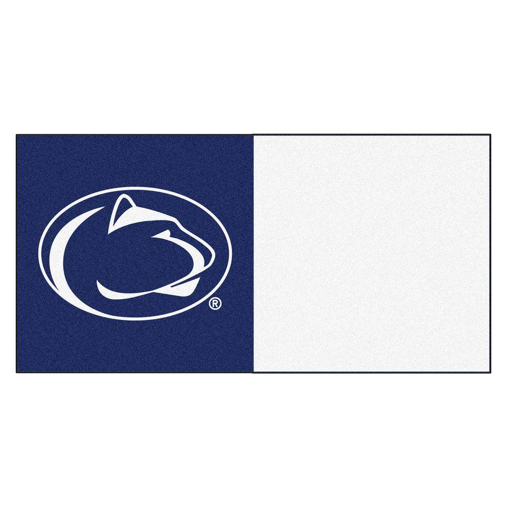NCAA - Penn State Navy Blue and White Nylon 18 in.