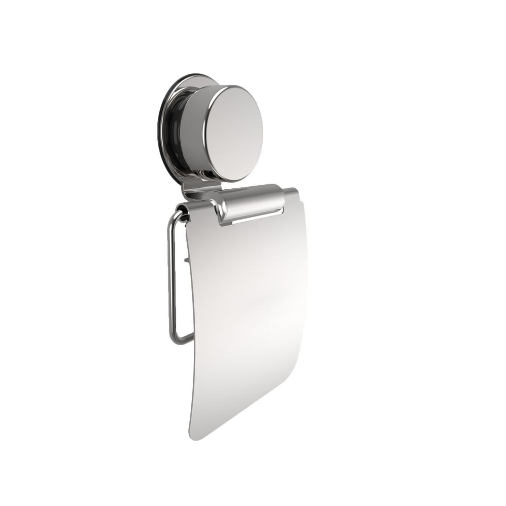 Lavish Home Wall Mounted Toilet Paper Holder In Stainless