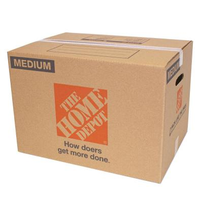21 in. L x 15 in. W x 16 in. D Medium Moving Box with Handles