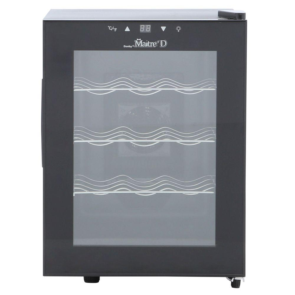 Danby 12-Bottle Thermoelectric Countertop Wine Cooler