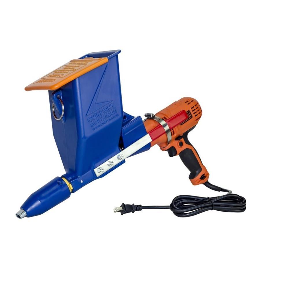 Bon Tool Speedy Mortar Pointer Caulk Gun with Black & Decker Drill by Bon Tool