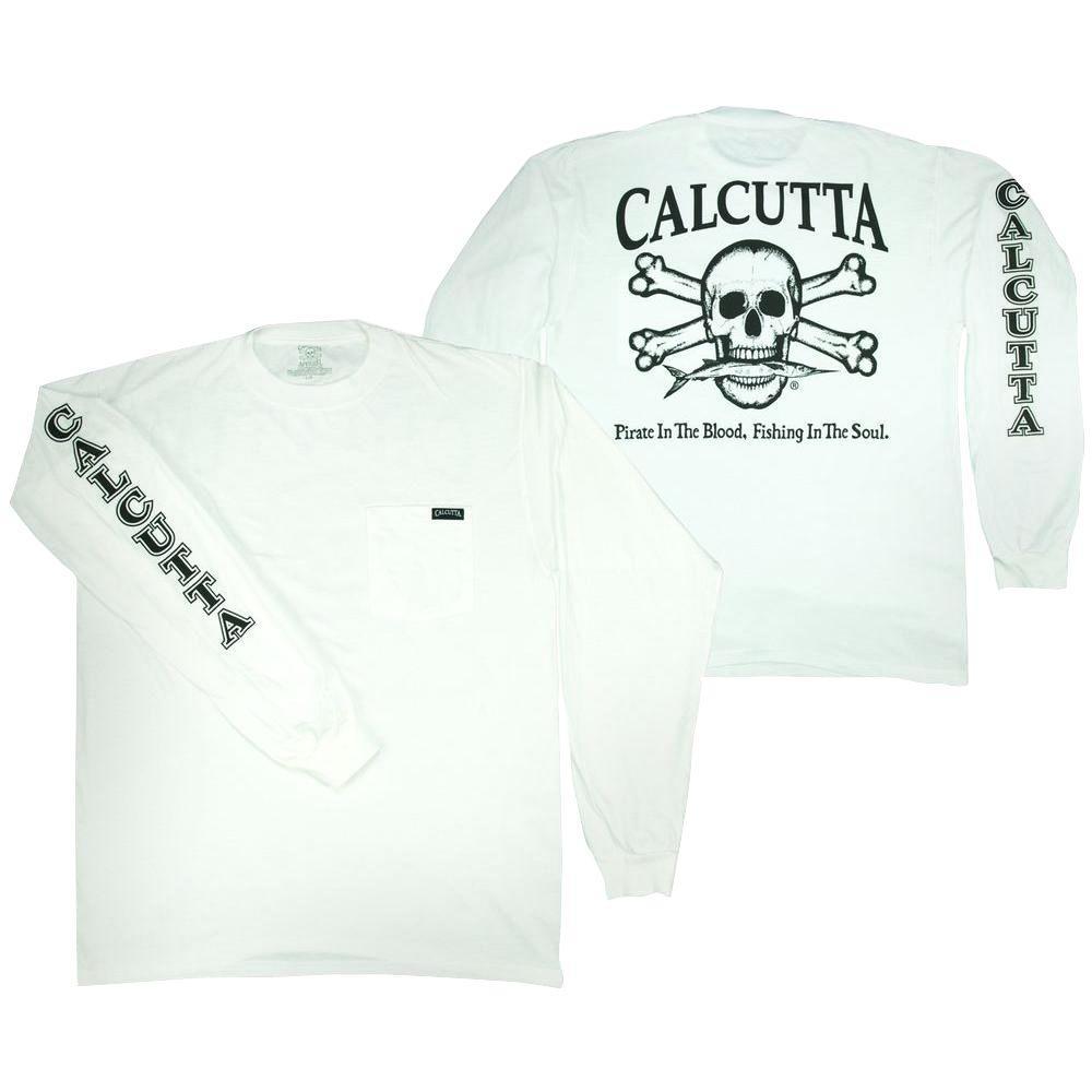 Adult Double Extra Large Original Logo Long Sleeved Front Pocket T-Shirt
