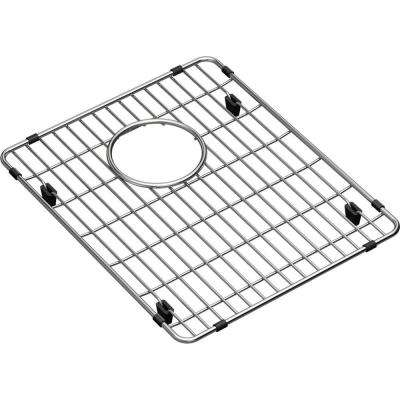 Crosstown Stainless Steel Kitchen Sink Bottom Grid  - Fits Bowl Size 13-1/2 in. x 16 in.