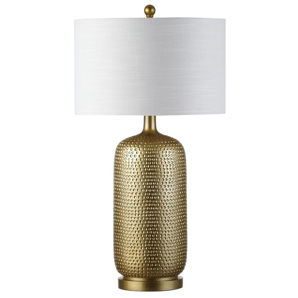 Jonathan y sophia 30 in gold resin table lamp jyl1017a the home depot gold resin table lamp aloadofball Images