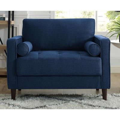 Groovy Lifestyle Solutions Lillith Mid Century Modern Chair In Navy Gmtry Best Dining Table And Chair Ideas Images Gmtryco