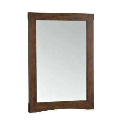 Westmore 24 in. W x 33 in. H Single Framed Mirror in Westwood