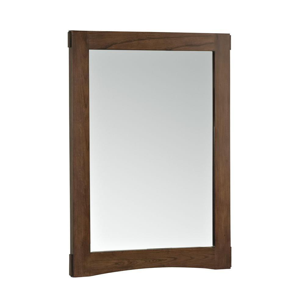 KOHLER Westmore 24 in. W x 33 in. H Single Framed Mirror in Westwood