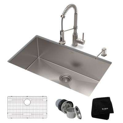 Delicieux Standart PRO All In One Undermount Stainless Steel 30 In.