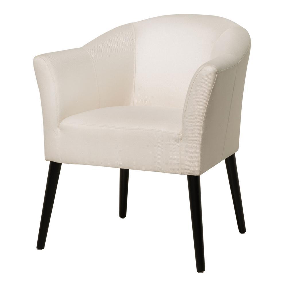 Cosette Beige Fabric Armchair