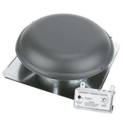 1500 CFM Weatherwood Power Roof Mount Attic Ventilator