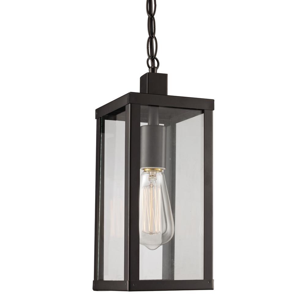 Oxford Black 1-Light Hanging Lantern