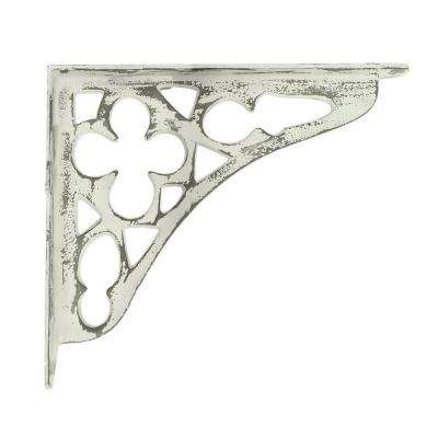 8.25 in. x 2.5 in. Antique Silver Corner Bracket